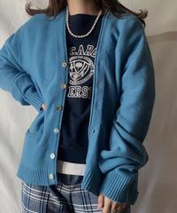 【USED】 Acrylic Knit Cardigan⑤ /210303-009