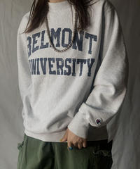 【USED】  Champion Reverse Weave Sweat BELMONT UNIV./210516-015