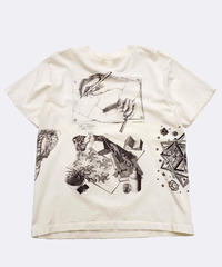 [Used] Short Sleeve T-shirt (Escher art 5)