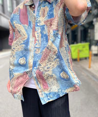 【Used】Silk Pattern Shirt 4