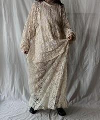 【RE;CIRCLE】RE Crocket L/S Dress②/210526-051