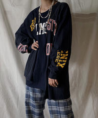 【RE;CIRCLE】 RE Patchwork L/S T-shirt②/210414-025