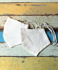 Silk kotton × linen Organic Mask (2枚セット)