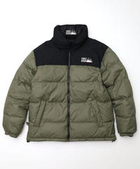 [FIRST DOWN] Riversible Down jacket (Khaki)