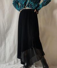 【USED】 Velour Skirt/210203-013