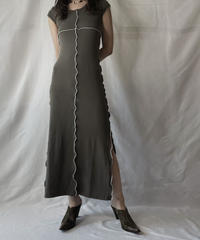 【RE;CIRCLE】RE Mellow Spandex Back Open One-piece①/210805-001