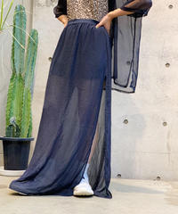 【Used】 See through Long Skirt  /200725-002