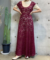 【Used】 N/S  Lace One-Piece  /200922-015