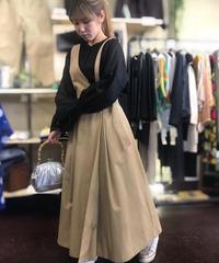 2020ss  ワンショルダーベルトラップジャンパースカート~herencia~