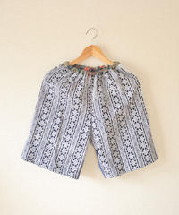 Unisex Kimono&Yukata comfy short pants ② (no.203)