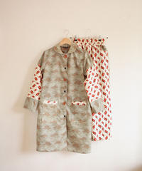 2 Kinds Kimonos Spring Coat & easy Pants combination (no.268)