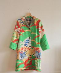 Gorgeous Light green Furisode Long Jacket (no.223)