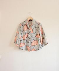 Nostalgic Silk Kimono Shirt (no.296)