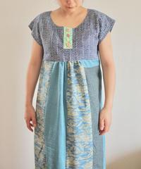 Yukata & Blue Kimono summer dress (no.173)
