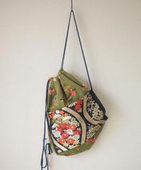 Nostalgic x Kimono Obi Knapsack bag (no.061)
