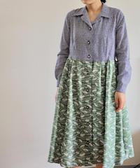Yukata & Kimono Long sleeves Summer Dress (no.301)