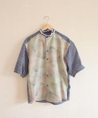 Men's Kimono & Yukata Cotton summer shirt (no.313)