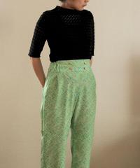 Pastel green kimono casual pants (no.152)