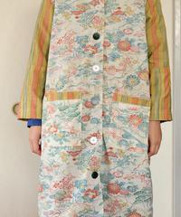 Warm fleece Kimono winter coat (no.259)