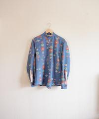 Men's Retro plum pattern Kimono casual shirt (no.288)