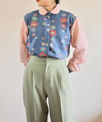 Spring retro long sleeve shirt (no.287)