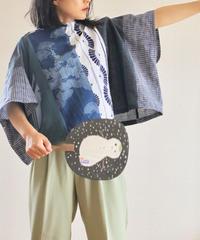 Summer Kimono patchwork square blouse (no.325)