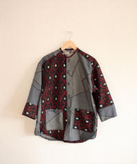 Men's 2 kinds black Kimono Shirt Jacket (no.267)