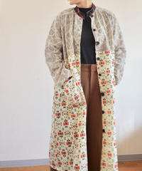 Abstract pattern 2 Kimonos Long Jacket Dress (no.276)