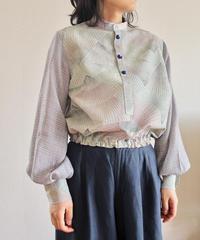 Balloon sleeves Kimono blouse (no.316)