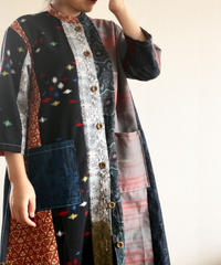 Kimono patchwork stylish Long Jacket (no.243)