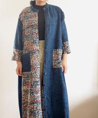2 color Kimono Long jacket (no.218)