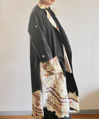 Black Classic Kimono Long Jacket (no.237)