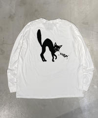 CC21 CAT BURP LONG SLEEVE TEE【UNISEX】