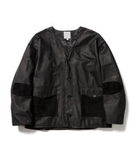 LEATHER CARDIGAN【MENS】