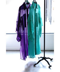 SILK DETACHABLE LONG SHIRTS【WOMENS】