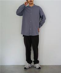 HEAVY JERSEY BAND COLLAR SHIRTS【MENS】