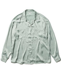 SATIN CHINA SHIRTS【WOMENS】
