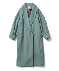 SHAWL COLLAR COAT【WOMENS】