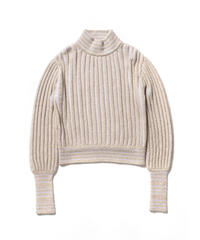 ACCORDION KNIT PULLOVER【WOMENS】