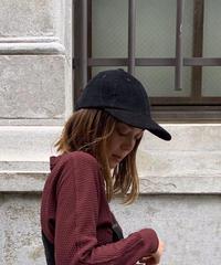 CORDUROI ADJUSTER CAP【UNISEX】