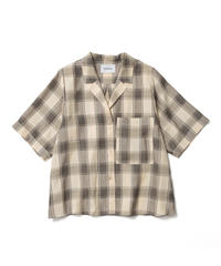 JACQUARD CHECK SHIRTS【WOMENS】