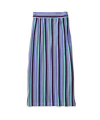 PILE BORDER TIGHT SKIRT【WOMENS】