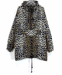 LEOPARD BIG ANORAK【WOMENS】