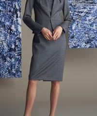 REDAウールシャンブレー スカート 201-13028