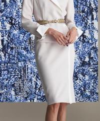 トリアセダブルクロス スカート 201-13033