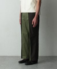 green brown pants