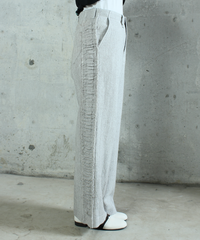 pt-23L   lightgray wide pants