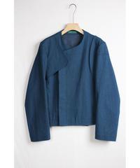 jk-40D   denim asymmetry jacket