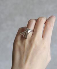 silver origami musubi