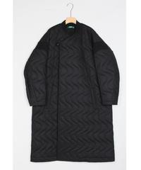 jk-42B   black quilt coat